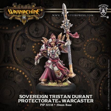 Protectorate Sovereign Tristan Durant - METAL Blister
